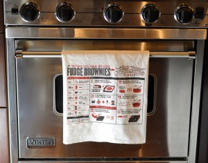 More Sweets Please Kitchen Towel on Oven