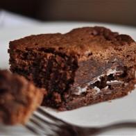 Mint Chocolate Fudge Brownie