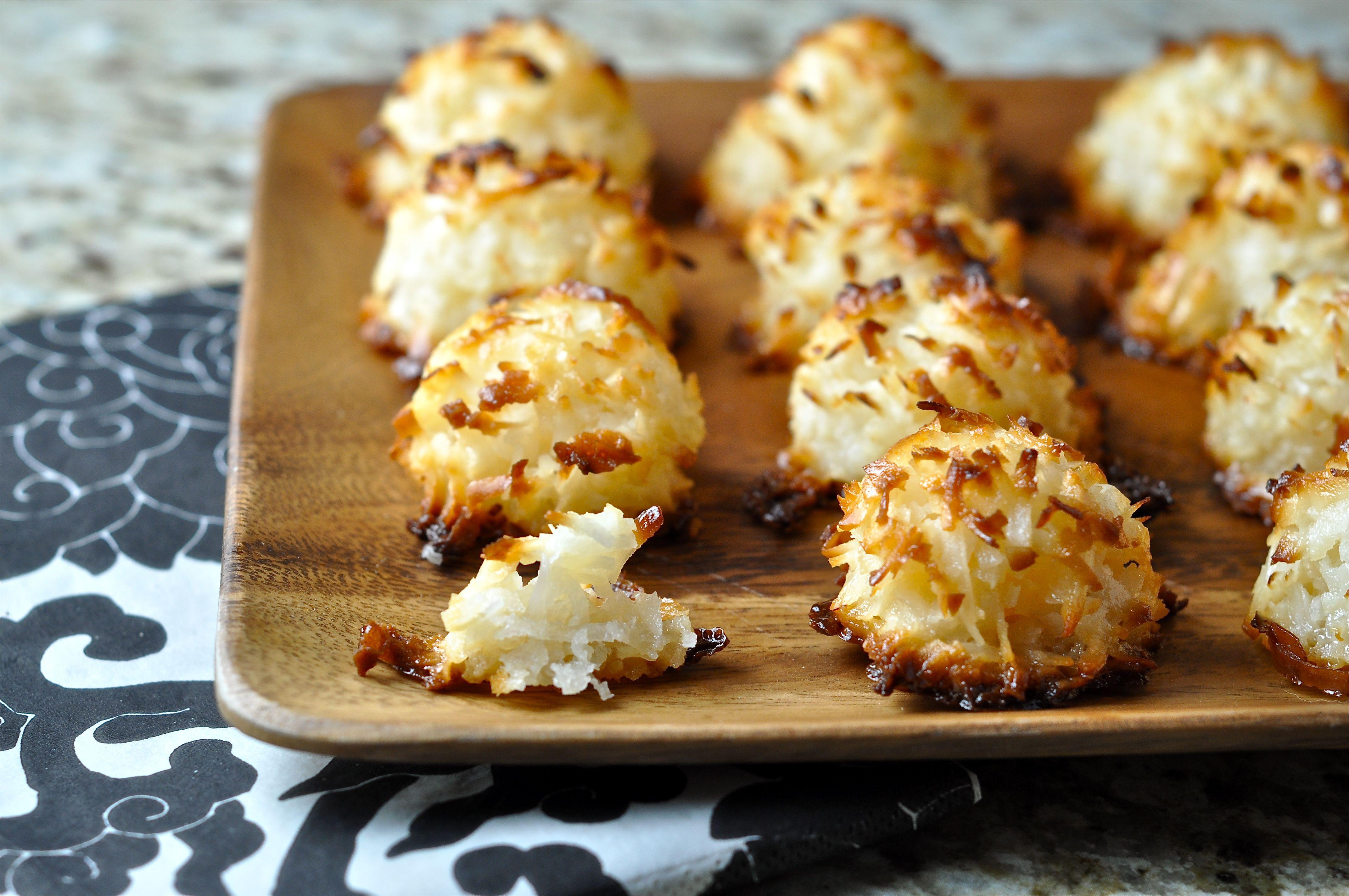 Scrumptious Coconut Macaroons Recipes — Dishmaps
