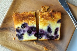 toast the piece of pound cake in a toaster if the cake is particularly ...