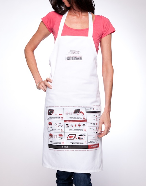 World's Greatest Brownie Apron- More Sweets, Please