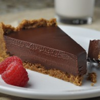 Chocolate Ganache Tart with Pecan Crust