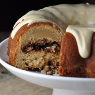Mistakenly Underbaked Maple Sour Cream Bundt Cake