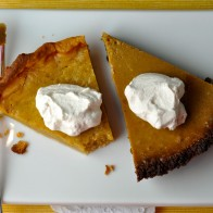 Pumpkin Pies (2 Ways!) with Spiced Whipped Cream