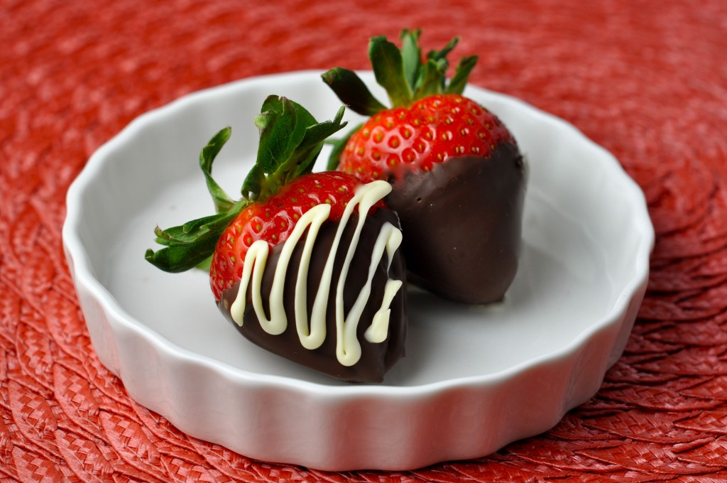 Chocolate Covered Strawberries | More Sweets Please