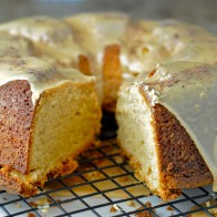Cream Cheese Peanut Butter Pound Cake