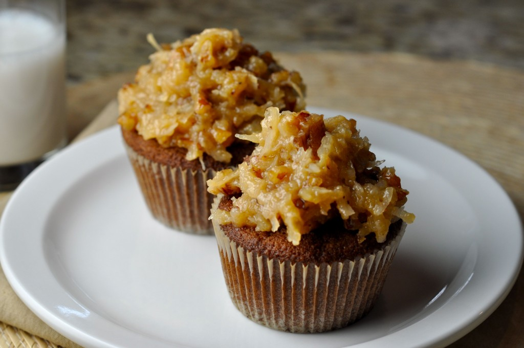 German Chocolate Cupcakes With Espresso Frosting Recipes — Dishmaps