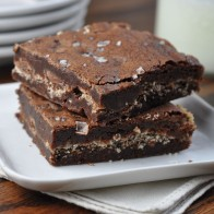 Panko Sea Salt Brownies