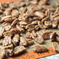 Roasted Cinnamon-Sugar Pecans