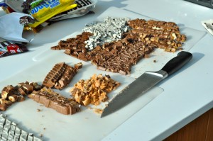 Chopped Chocolate Bars