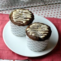 Gingerbread Cake with Coffee Glaze