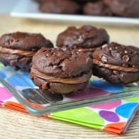 Chocolate Truffle Sandwich Cookies