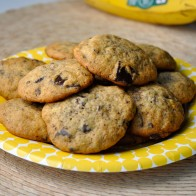 Banana Dark Chocolate Cookies
