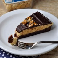 Honey-Roasted PB & Chocolate Tart