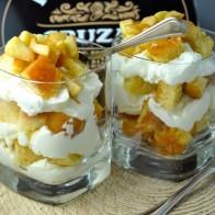 Apple Cinnamon Rum Cake Trifle