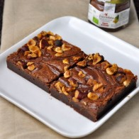 Hazelnut Fudge Brownies