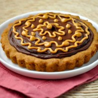Peanut Butter Chocolate Cookie Tart