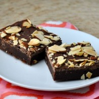 Toasted Almond Brownies