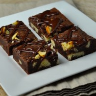 Birthday Cake Fudge Brownies