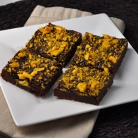 Sponge Toffee Fudge Brownies