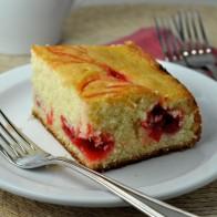 Cherry Swirl Cake