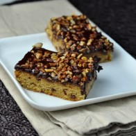 Chocolate Chip Pecan Bars