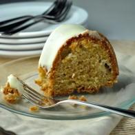 Cardamom Pear Bundt Cake