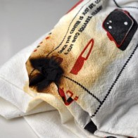 Mistake Burned Kitchen Towel