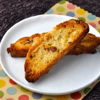 Almond Butterscotch Biscotti