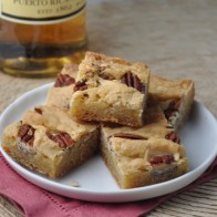 Rum Butter Chewy Bars