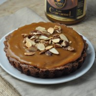 Brownie Caramel Nut Tart