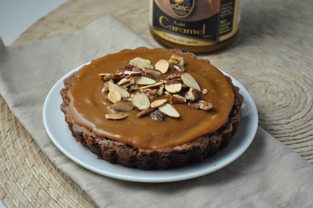 Brownie Caramel Nut Tarts | More Sweets Please