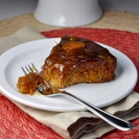 Healthy Peach Cake