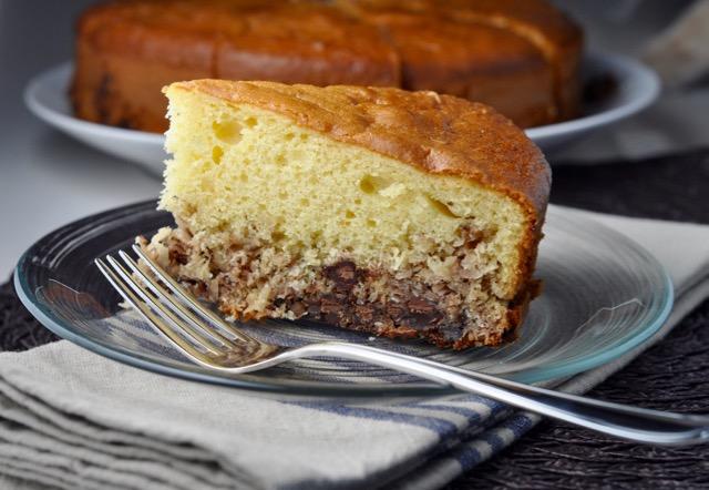 Coconut Macaroon Upside Down Cake