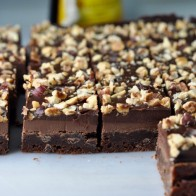Hazelnut Layer Brownies